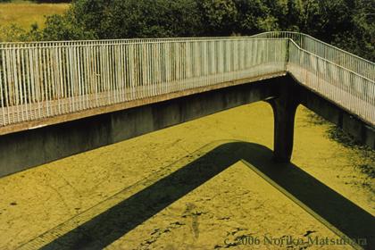 Bridge, Harlow, C-print photograph by Japanese artist Noriko Matsubara, 2006.