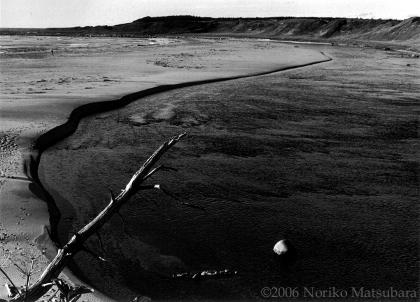 Shallow Bay, Newfoundland, fibre base print photograph by Japanese artist Noriko Matsubara, 2006.