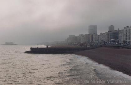 Brighton, C-print photograph by Japanese artist Noriko Matsubara, 2006.