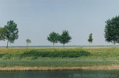 French Landscape, C-print photograph by Japanese artist Noriko Matsubara, 2006.