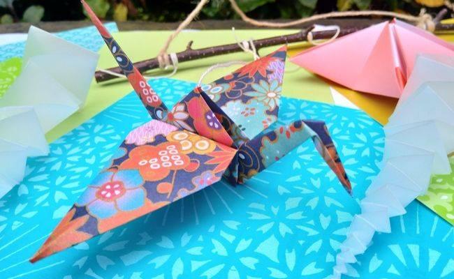 Japanese Origami Winter Workshop by Noriko Matsubara at Land of Oak & Iron