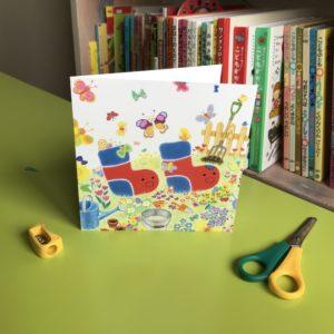 Bocchi and Pocchi in the Garden Card (M)