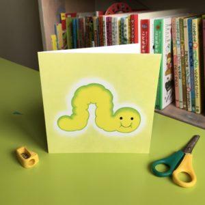 Caterpillar Card (M)