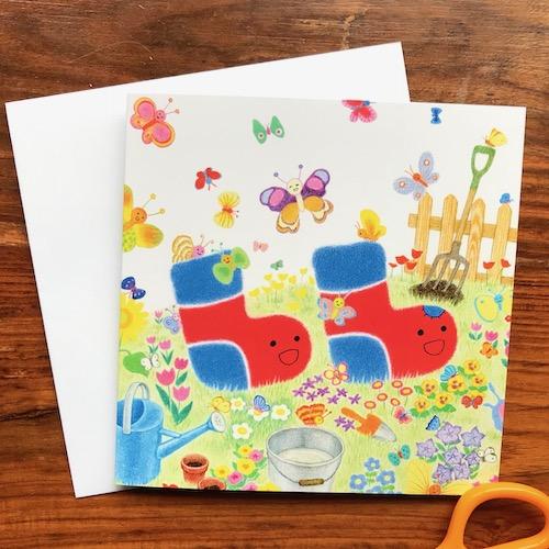 Children's greeting card by Noriko Matsubara