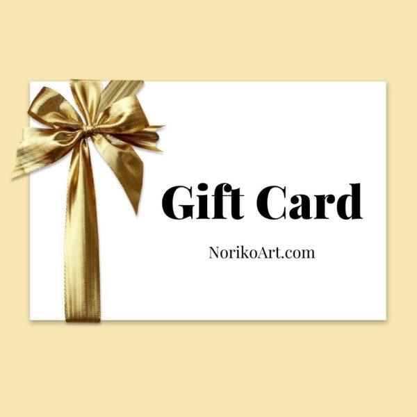 Noriko Art Gift Card