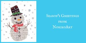 Season's Greetings from NorikoArt
