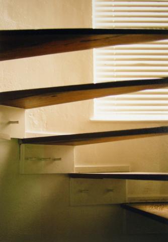 Stairs, C-print photograph by Japanese artist Noriko Matsubara, 2006.