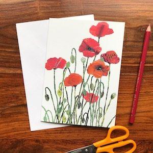 Greeting cards by Japanese artist Noriko Matsubara