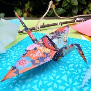 Japanese origami workshop by Noriko Matsubara